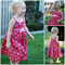 Girls Dress: Sz 2 & 3 ($35); Sz 4-6 ($40); Sz 7-12 ($45) (girl/outfit/Christmas)
