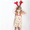 Christmas Woodland Creatures Overalls