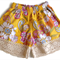 Vintage poplin lace shorts sz 00 - 4