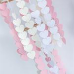 Pink, White & Cream Heart Mobile - CUSTOM ORDERED