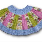 SIZE 6 City Scape Twirl Skirt