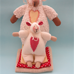 2015 Year of Sheep (Mum and baby sheep)