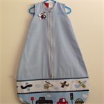 0 to 6 months 27C+ HOT SUMMER  Baby Sleeping/Travel Bag Blue  Small size
