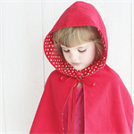 Red Riding Hood Cape - Size 00 to 0