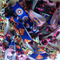BULK PACK 30 Superhero Girls Hair Ties Birthday Giveaways