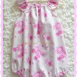 Baby Toddler Playsuit Romper Tilda sizes 0000, 000, 00, 0, 1, 2, 3