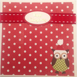 Happy Christmas Owl   card