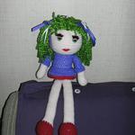 42cm Crochet Doll