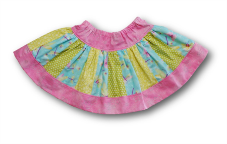 SIZE 2 Butterfly and Dragonfly Twirl Skirt