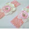 """""""Something for Holly"""" headband (pink lace)"""