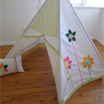 Flower Power Hideout Teepee/Tent