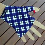 Glove: golf, fingerless, palmless, sunglove for sun protection, (right hand)