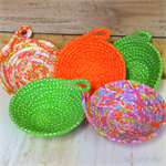 Fabric  Pixie Baskets