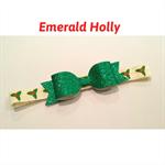 """Emerald Holly"" Christmas Headband"