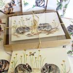 Gift box of 8 greeting cards - Australian wildlife art - Set D - animals possums