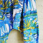 'Summertime' Vintage Hawaiian Baggy Bum Pants