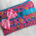 Pink Bow Coin Purse