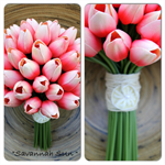 Savannah Sun Tulip Brides Bouquet