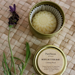 Calming Floral Body Butter Bar. Lavender & Ylang Ylang. Lips, Hands, Heels...