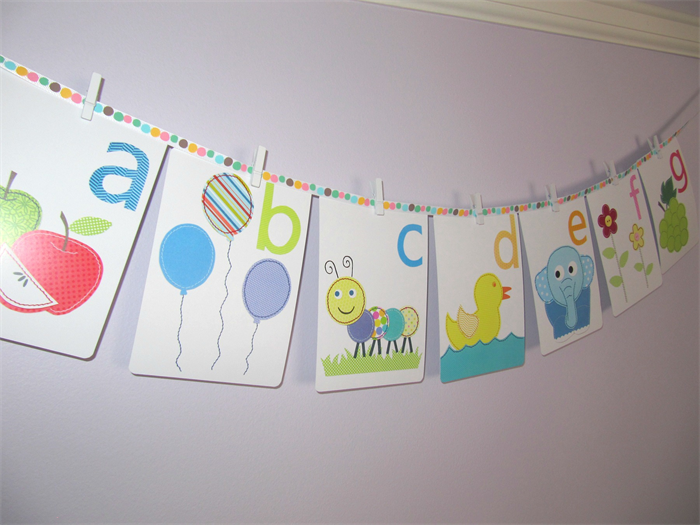 Alphabet Wall Cards   Alphabet Wall Art   Alphabet Flash Cards   Letter Wall  Art