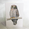 Powerful Owl greeting card, Australian wildlife art, big bird