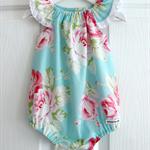 Floral Baby Girls Seaside Playsuit