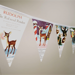 Bunting line - Rudolph the Red-Nosed Reindeer