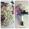 Lilac lace Brides Bouquet