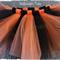 Handmade Halloween Tutu , Orange/Black Sizes  1- 4 Custom Orders