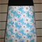Blue Skirt with Daisies &  Bamboo Stretch Waist