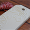 Embossed Christmas Gift Tag -White