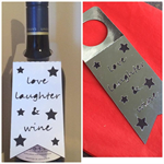 Cheer wine tags -