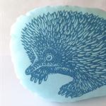 Decorative echidna pillow // childs cushion // echidna cushion // animal softie