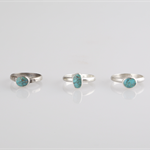Stacking Ring, Blue Turquoise. Choose the one you like.