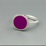 Royal Purple Resin Ring