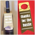 Cheer wine tags -