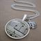 a tempo - Double Pendant Necklace