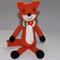 Crochet Mr Fox Toy |  Nursery Decor | Handmade | Ready to Ship