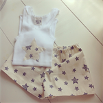 Starry night singlet set- size 2yrs