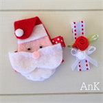 Sophie Santa Clip Set - super cute