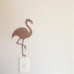 Flamingo - Wooden - Laser Cut Wall Art