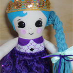 Purple Princess Doll