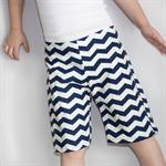 Size 5 - Navy Chevron - Retro Rascal Shorts