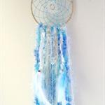 Handmade 'Shabby Chic' Dreamcatcher.