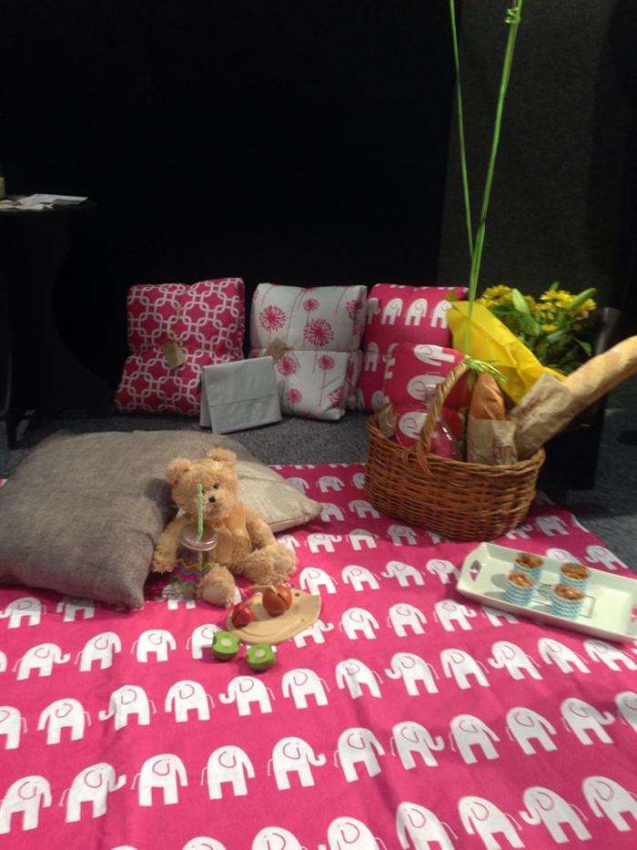Picnic Blanket Grey Elephant Emby Love Madeit Com Au