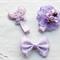 Lily - Purple trio set