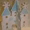 Frozen Party Centrepiece castle Winter Wonderland Ice Queen