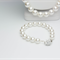 Pearl Necklace with Matching Bracelet and Earrings