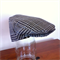 Boys Driving Cap Vintage Hat. Grey and blue plaid - in your choice of size