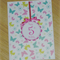 ANY AGE Girls Birthday card  - butterflies